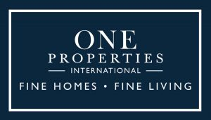 One Properties International Logo and homepage